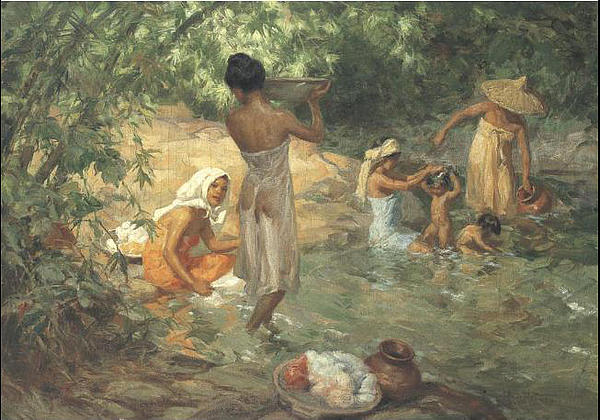 reaction paper about the sunsetreturn of the fisherman by fernando amorsolo