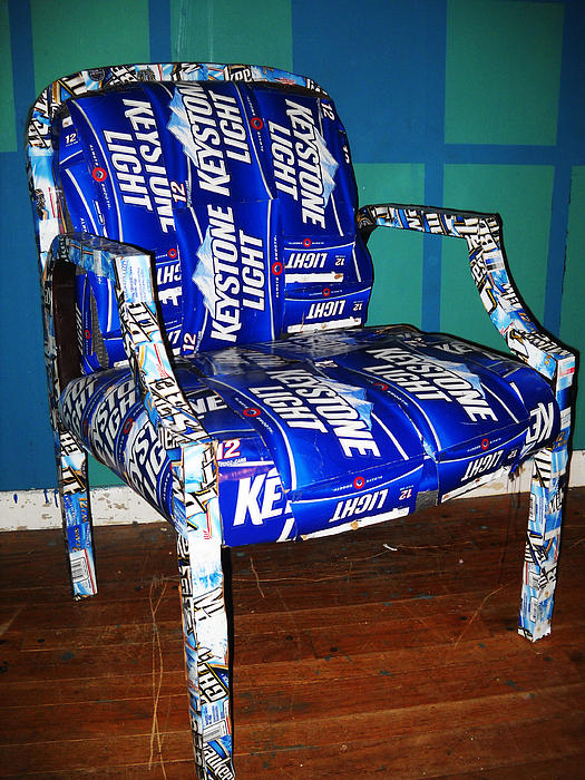 Heather Huebner - Beer Box Chair