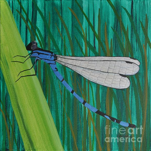 Sally Rice - Blue Dragonfly