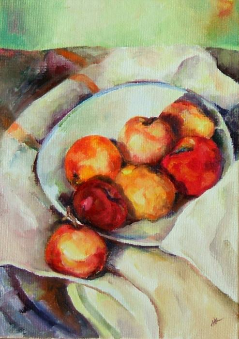 Pictures Of Fruit. Bowl of Fruit Painting - Bowl