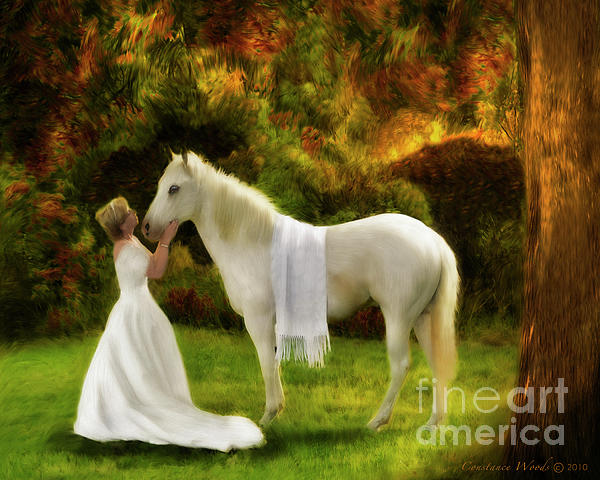 Bridal Revival Painting  - Bridal Revival Fine Art Print