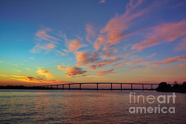 Bridge Over The Patuxent Photograph  - Bridge Over The Patuxent Fine Art Print
