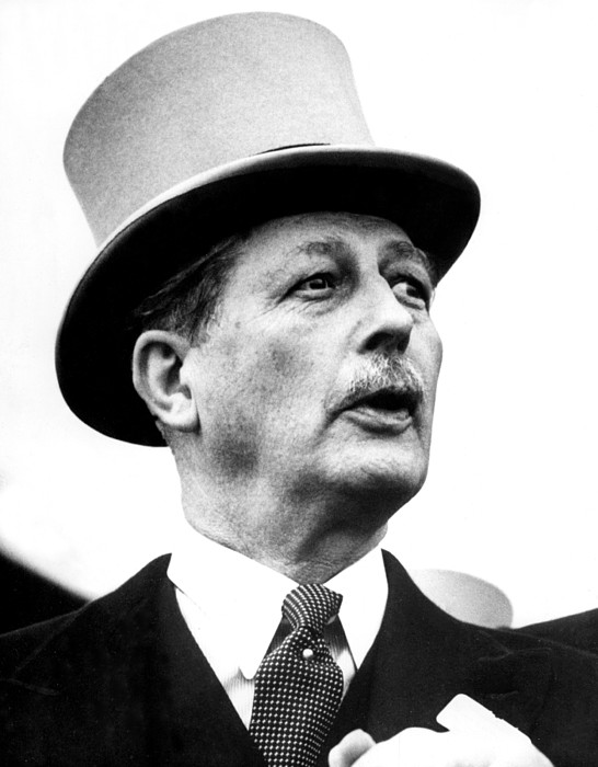 1950s Photograph - British Prime Minister Harold by Everett