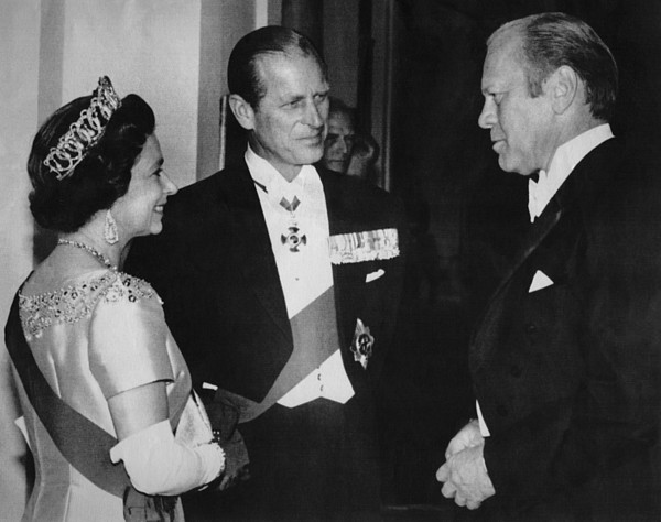 1970s Photograph - British Royalty. From Left  Queen by Everett