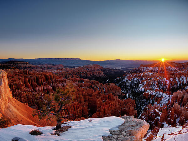 Bryce Canyon Sunrise Photograph  - Bryce Canyon Sunrise Fine Art Print