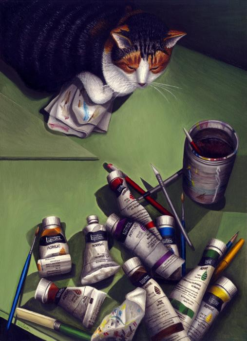 cat-and-paint-tubes-carol-wilson.jpg