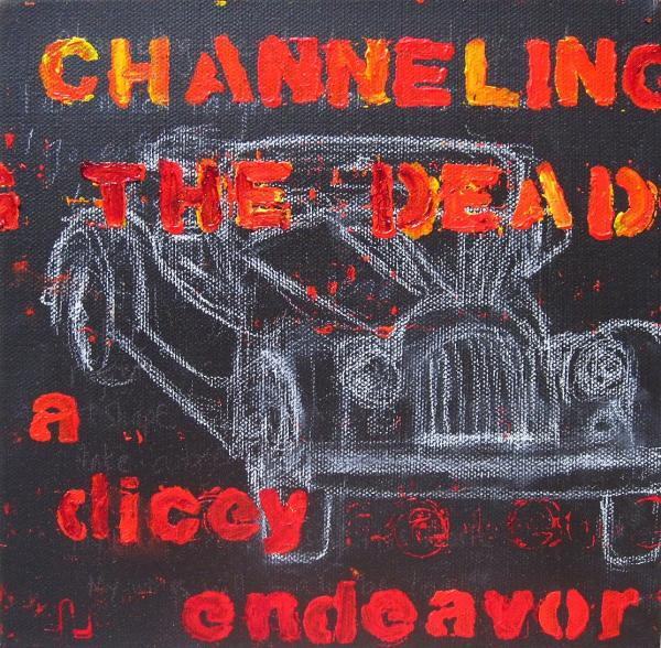 Channelling the Dead a Dicey Endeavor Painting by Natalie Mae ...