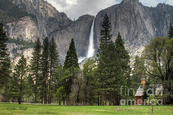 Chapel In The Valley Photograph  - Chapel In The Valley Fine Art Print