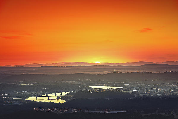 Chattanooga Sunrise Photograph  - Chattanooga Sunrise Fine Art Print