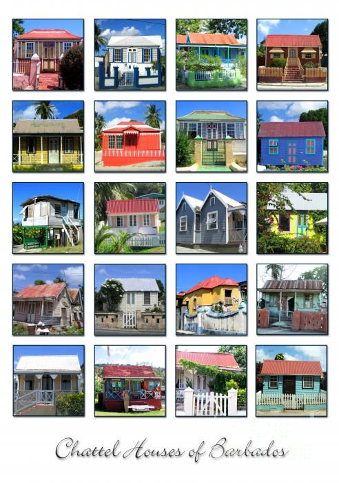 Barbara Marcus - Chattel Houses of Barbados