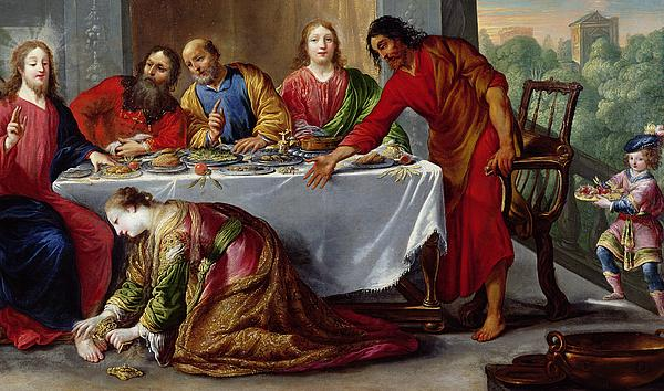 Claude Vignon - Christ in the House of Simon the Pharisee
