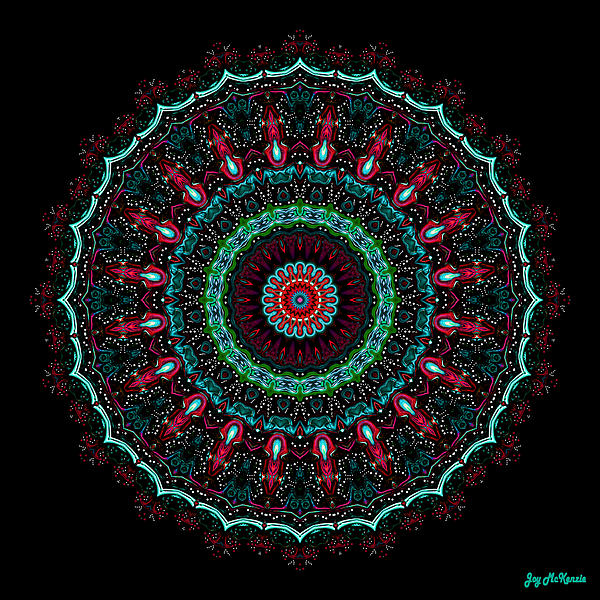 Joy McKenzie - Christmas Wreath Mandala