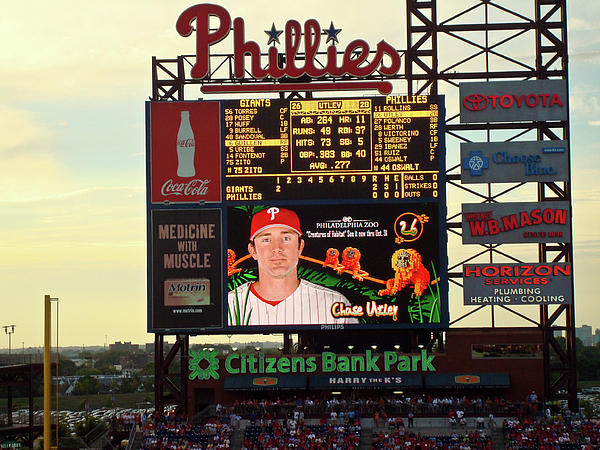 Citizens Bank Park 2 Photograph  - Citizens Bank Park 2 Fine Art Print
