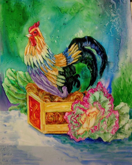 Genie Morgan - Colorful Rooster