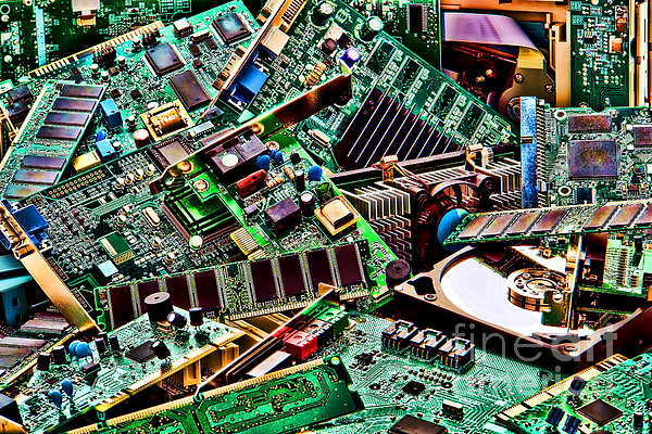 Buy cheap computer parts - Computer Parts Print / Poster