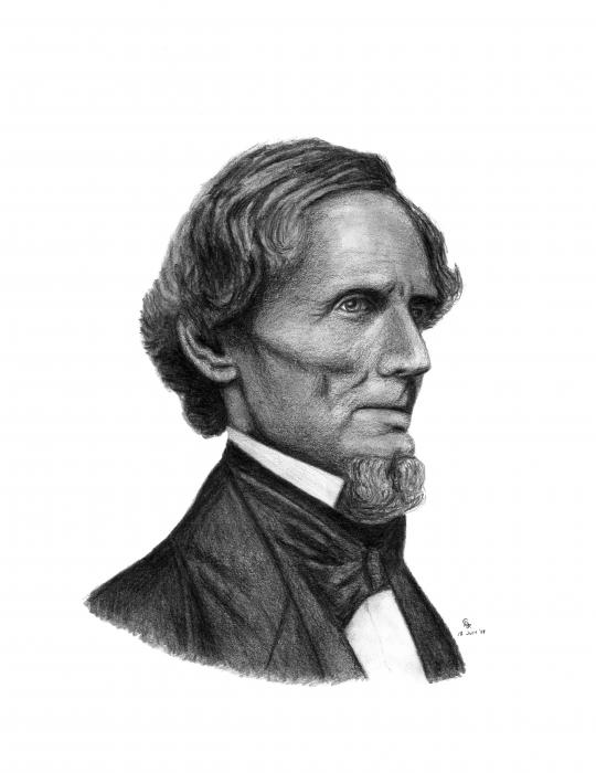 In 1808 Civil War-era Brigadier General Jefferson Davis was born on this day in Fairview, Kentucky.