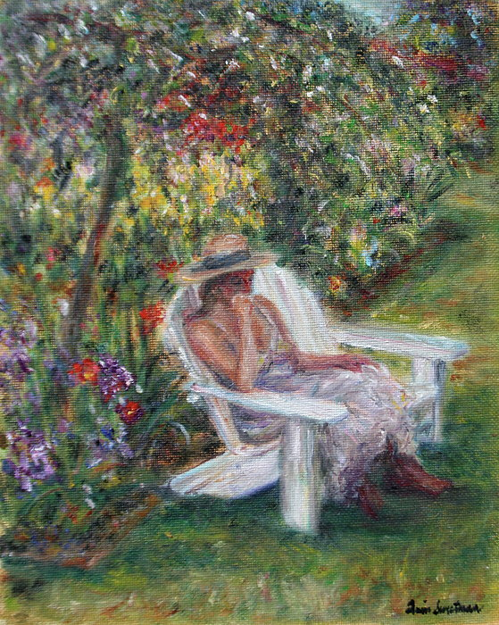Quin Sweetman - Contemplation in the Garden