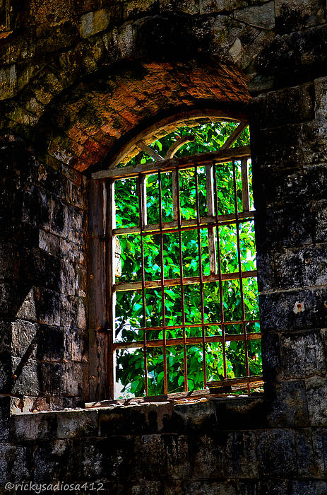 Enrique Rueda - Count of Monte Cristo Dungeon Window