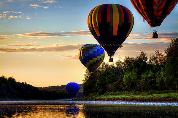 Gary Smith - Crown of Maine Hot Air Balloon Festival