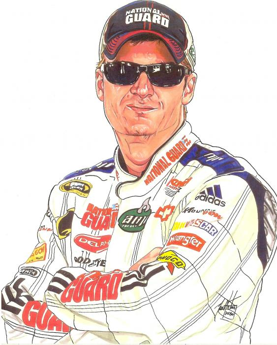 dale earnhardt jr. foto. Dale Earnhardt Jr. Drawing