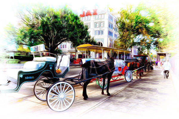 Bill Cannon - Decatur Street at Jackson Square