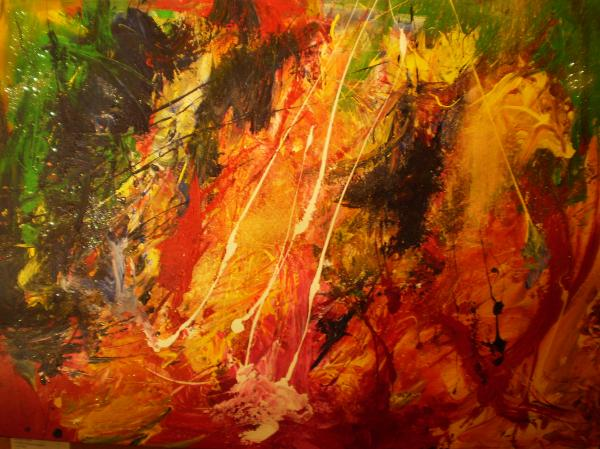 Divine Order Painting by Helene Gross - Divine Order Fine Art ...