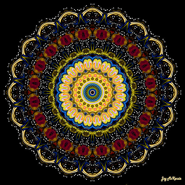 Joy McKenzie - Dotted Wishes No. 6 Mandala