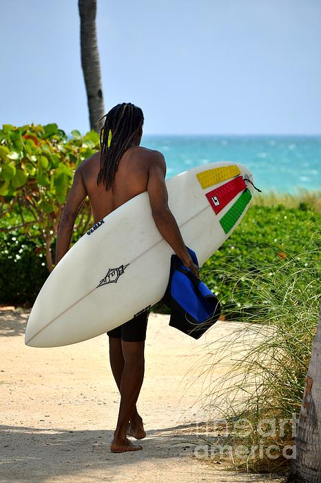 Rene Triay - Dreadlocks Surfer Dude