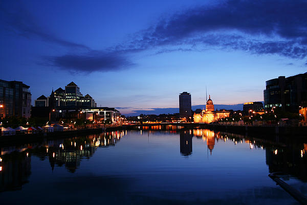Barry McGreevy - Dublin City At Dusk