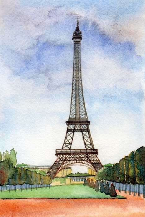 Susan Wilhoit - Eiffel Tower in Paris
