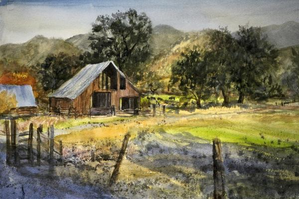 Howard Luke Lucas - Elk Creek Barn