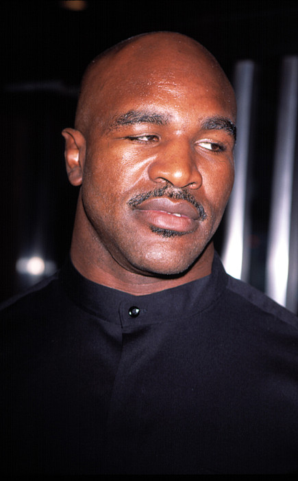 Boxer Photograph - Evander Holyfield At Premier Of In Too by Everett