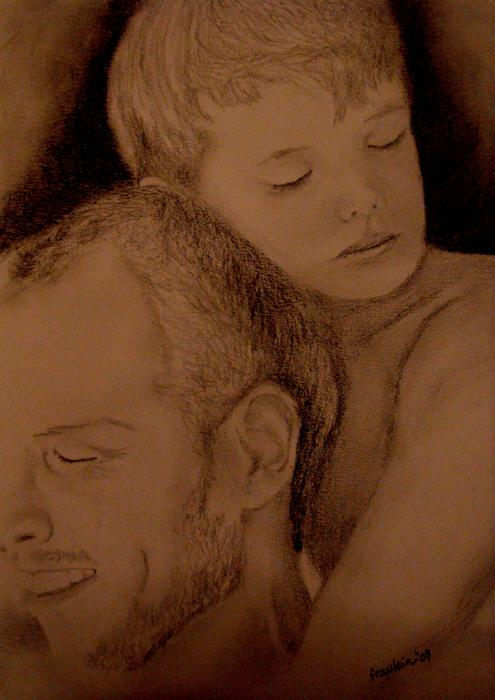 Father And Son Pictures. Father And Son Painting