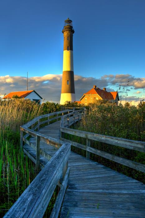 Fire Island Lighthouse, Robert Moses Beach, NY