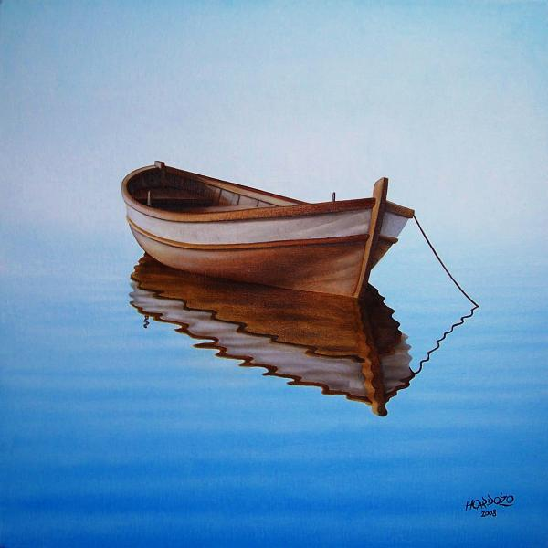 Fishing Boat Paintings