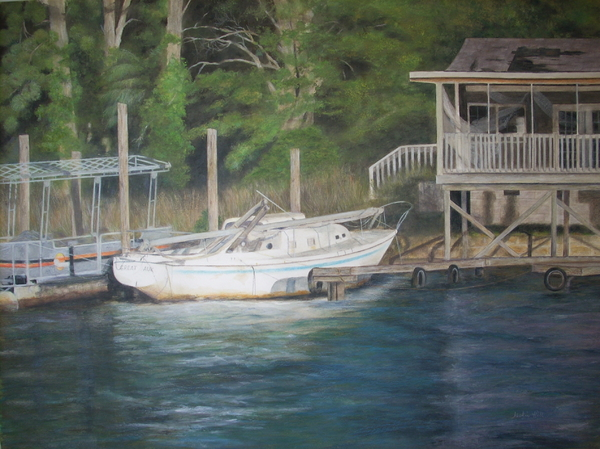 Jackie  Hill - Forgotten at Lake Sinclair Marina