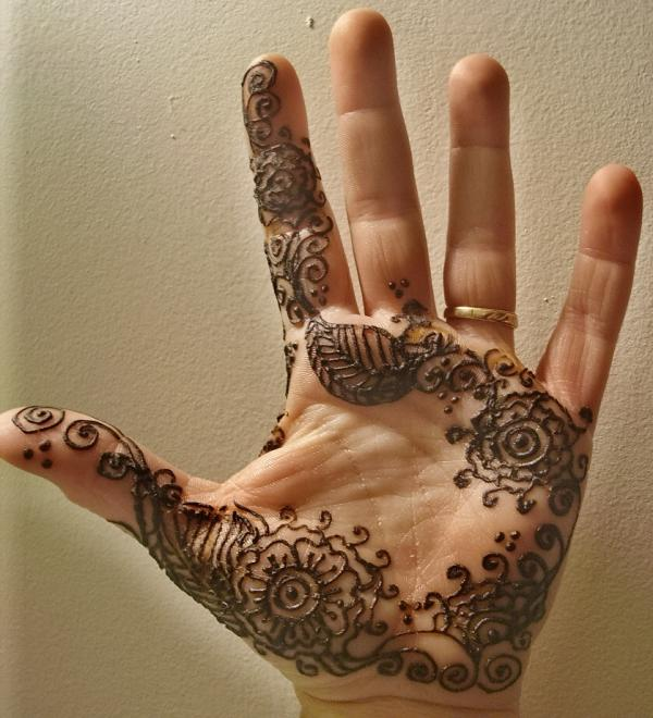 Henna Tattoo Designs On Hands