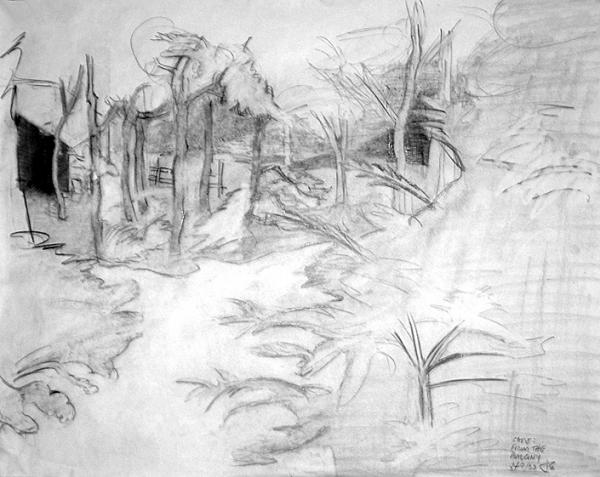 Landscape Drawings Pencil