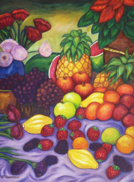 Dianne  Connolly - Fruit and Flowers