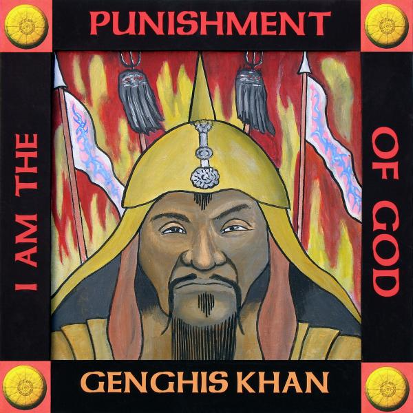 genghis khan quotes. Genghis Khan portrait Painting