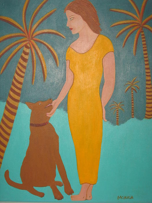 Sandra McHugh - Girl with Dog