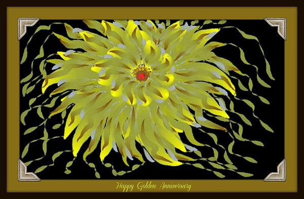 Sherry Gombert - Golden Anniversary Card
