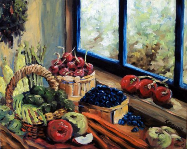 Good Harvest Painting by Richard T Pranke - Good Harvest Fine Art ...
