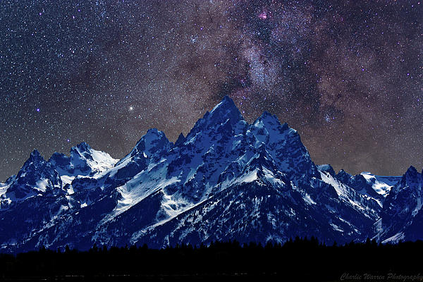 Grand Tetons Nights Photograph  - Grand Tetons Nights Fine Art Print
