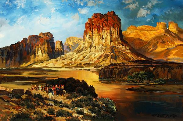 W  Scott Fenton - Green River