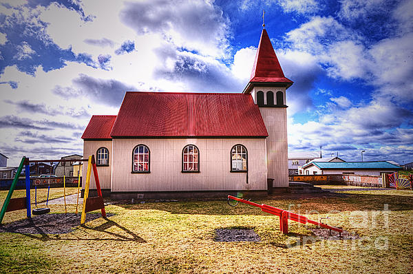 Jack Torcello - Grindavik Church III Iceland