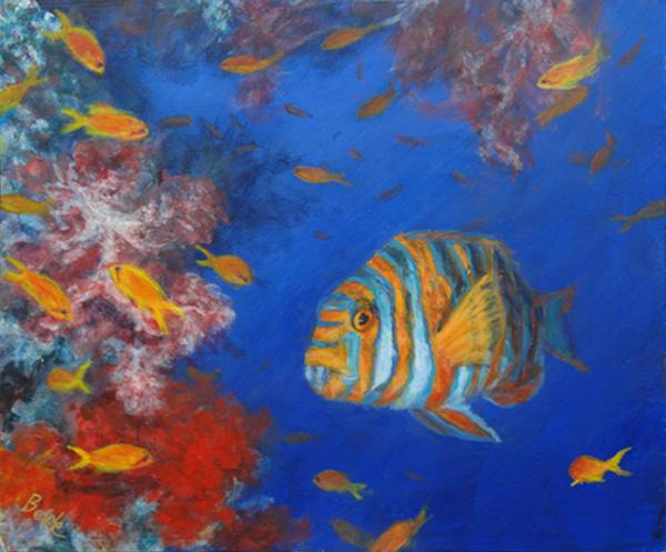 tropical fish paintings