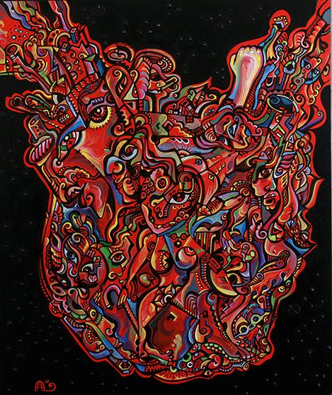 heart attack pictures. Heart Attack - 2009 Painting