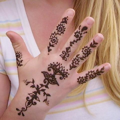 Henna Hand Design Painting by Henna Tattoos Ogden Utah
