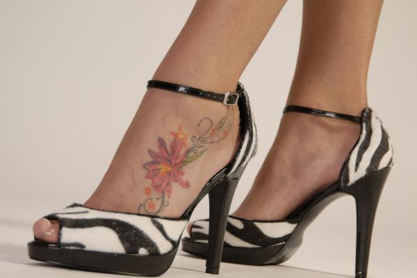 THE TEN: Alternative Tattoo Spots 4. Feet (Nicole Richie)